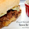Crock Pot French Dip Subs