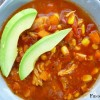 Crock Pot Healthy Chicken Tortilla Soup