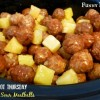 Crock Pot Easy Sweet and Sour Meatballs