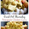 Crock Pot Pineapple Chicken Curry