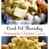 Crock Pot Pineapple Chicken Curry
