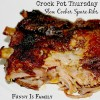 Crock Pot Spare Ribs