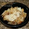Crock Pot Cheesy Chicken Tater Tot Casserole