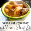 Crock Pot Caribbean Beef Stew