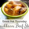 Crock Pot Caribbean Beef Stew
