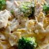 Crock Pot Chicken Broccoli Alfredo