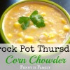 Crock Pot Corn Chowder