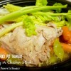 Crock Pot Turkey Stock