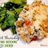 Crock Pot Spinach and Artichoke Stuffed Chicken