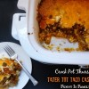 Crock Pot Tater Tot Taco Casserole