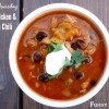 Crock Pot Buffalo Chicken and Black Bean Chili