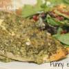 Crock Pot Pesto Spinach Chicken