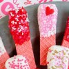Valentine Dipped Wafers