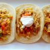 Crock Pot Chicken Ranch Tacos