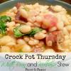 Crock Pot White Bean and Kielbasa Stew