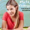 Why I'd Fail Kindergarten