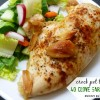 Crock Pot 40 Clove Garlic Chicken