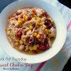 Crock Pot Southwest Chicken Soup
