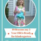 10 Ways I Know my Kid is Ready for Kindergarten