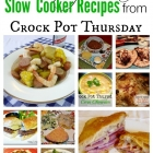 Very Best Crock Pot Recipes from Crock Pot Thursday