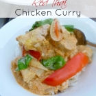 Crock Pot Red Thai Chicken Curry