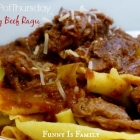 Crock Pot Hearty Beef Ragu