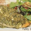 Crock Pot Pesto Spinach Chicken
