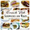 Crock Pot Sandwiches and Wraps