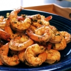 Grilled Basil Parmesan Shrimp