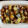 Crock Pot Herb Garlic Parmesan Potatoes