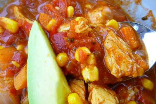 Healthy Chicken Tortilla Soup1