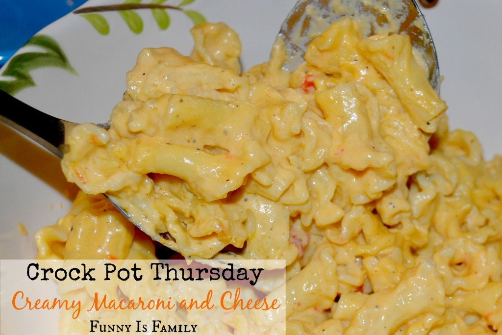 This Creamy Crockpot Macaroni and Cheese is a recipe loved by adults and kids alike!