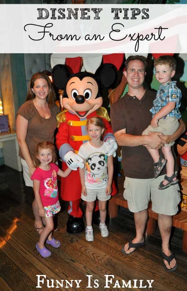 Great tips for traveling to Disney with kids!