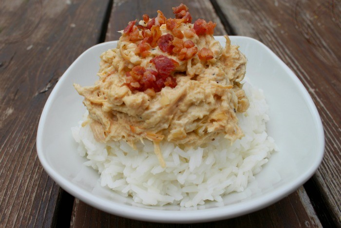 Crock Pot Cream Cheese Chicken is an easy and delicious dinner the whole family will love!
