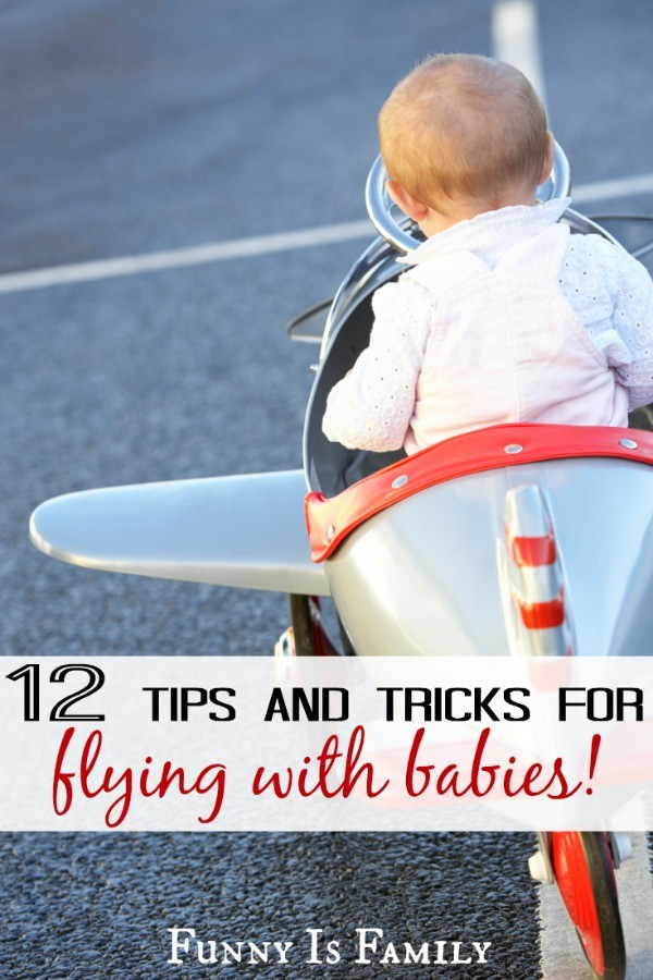 Everything you need to know about flying with babies, including tips and tricks for where to sit, what to pack, and what to ask for! Read this before boarding an airplane with a baby!
