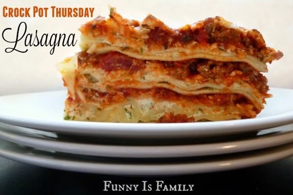 Classic Crockpot Lasagna is a dinner everyone in my family loves! Give this delicious meal a try for dinner soon!