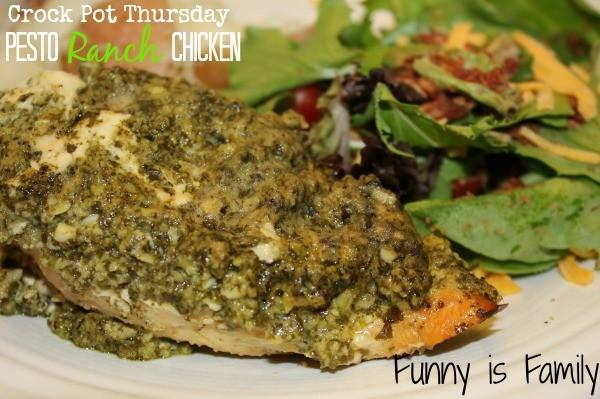 Crock Pot Thursday: Pesto Ranch Chicken - Funny Is Family