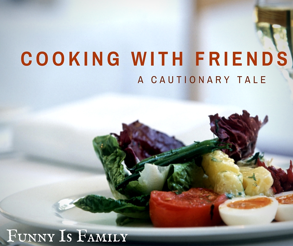 A hilarious tale of college kids trying to act like adults. If your kitchen endeavors aren't always successful, this is for you!