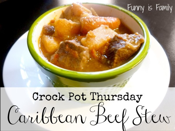 This Crock Pot Caribbean Beef Stew is spicy and delicious!