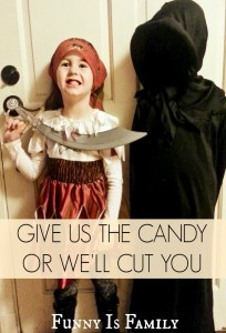 A cautionary tale of buying too little Halloween candy.