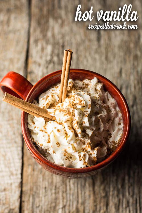 Crock Pot Hot Vanilla
