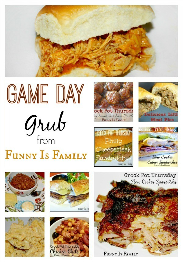 Most of these delicious game day recipes can be made in the Crock Pot! | FunnyIsFamily.com |