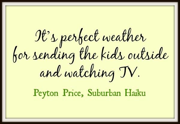 Suburban Haiku