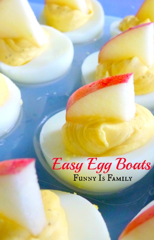 This easy deviled egg recipe is great for Easter, as an appetizer, or for a nautical themed party!