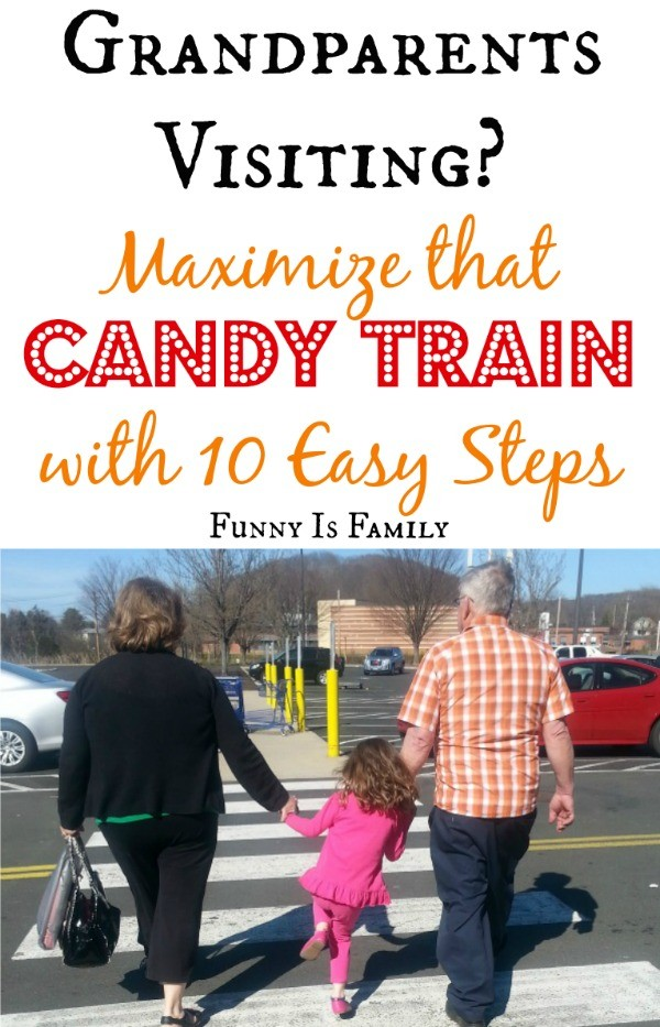 10 Tips for Maximizing the Candy Train of a Grandparents Visit
