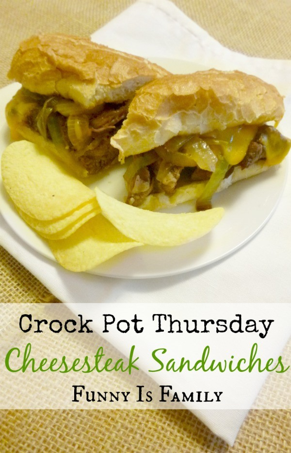 I love these crockpot cheesesteak sandwich recipe! The flavor is incredible!