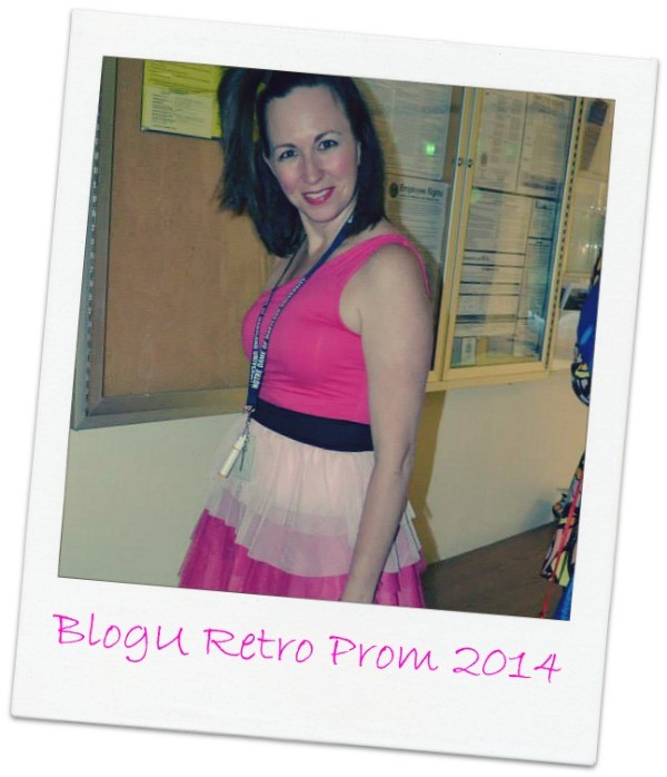 @FunnyIsFamily at #BlogU14 Retro Prom hosted by @NickMom