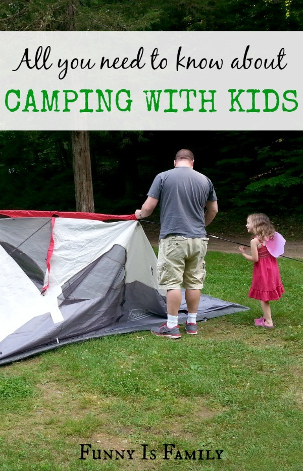 With careful planning, camping with kids is fun for all. Here is a comprehensive list of camping gear, camping recipes, and camping tips for making your camping trip go smoothly!