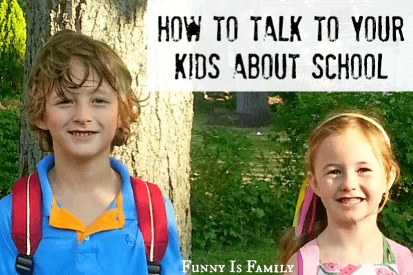 Tips and tricks for talking to kids about school. A great resource for parents to find out what's really happening in their kids' school day!