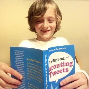 Kids love The Big Book of Parenting Tweets!